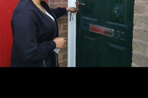 The first keys are received for the Wolverhampton House Project